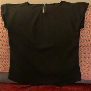 Express black blouse size medium